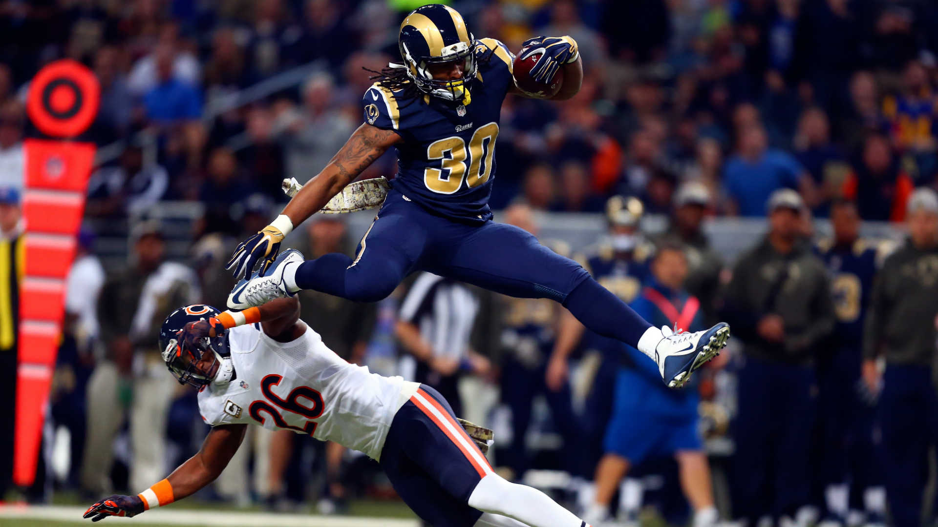 Todd Gurley hopes to continue bragging rights in the NFC West